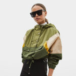 Hooded Nylon Jacket